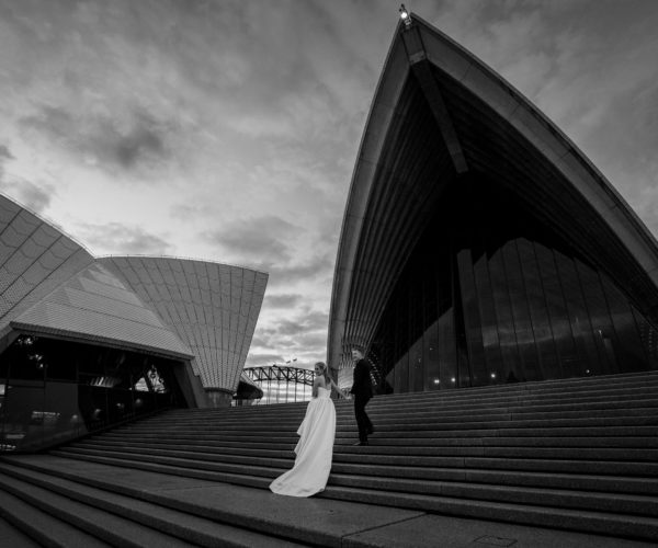 SYDNEY OPERA HOUSE WEDDING – EMMA & JEFF